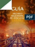 Guia Archivo Arzobispal
