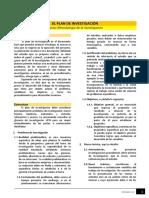 Lectura - El Plan de Investigación