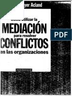Orígenes Del Conflicto