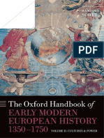 The Oxford Handbook of Early Modern European History 1350 1750 Volume II Cultures and Power