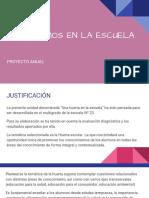 Proyecto Una Huerta en La Escuela