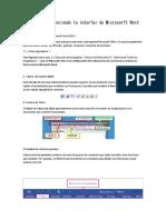 Conociendo La Interfaz de Microsorft Word 2016