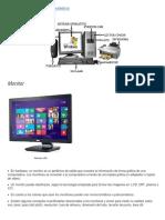 Partes Externas de Una Computadora y Sus Características