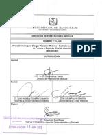 Normatividad para atención médica en el IMSS