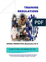 Animal Production (Ruminants) NC II