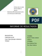 Informe Comunitaria