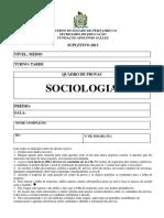 Sociologia Medio Caderno