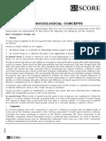 Basic Sociological Concepts