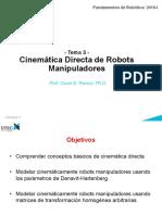 3 Cinematica Directa Manipuladores