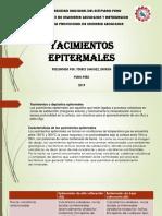 Yacimientos epitermales