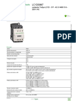 Contactor - Tesys D_lc1d09m7