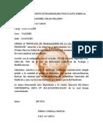 Autorizo Descuento Ayacucho