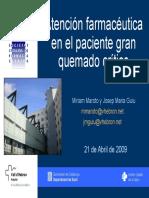 PACIENTE GRAN QUEMADO