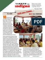 Sandigan - Nov 2019 (Vol.27, No.11 + Bulletin)