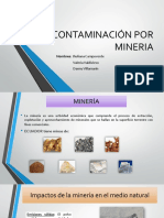Contaminación-minera