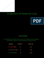 3-Projection of Points and Lines