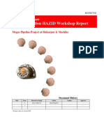 Construction HAZID Workshop Report PK Pipeline-Final