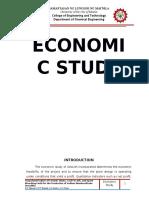 13C05 Economic Study