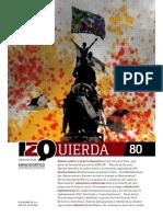 Revista Izquierda #80