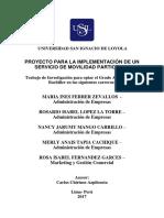 Proyecto UBER