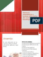 Farmacos Antianemicos y Factores Estimulantes Del Crecimiento Hematopoyetico Pptx