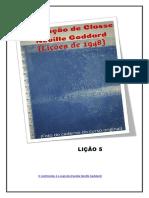 Instrução de Classe -Neville Goddard-Lição5