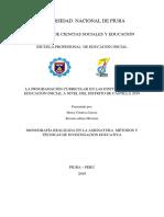 Monografìa de Metodos y Tecnicas