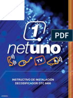 Manual del deco digital HD Motorola 6400
