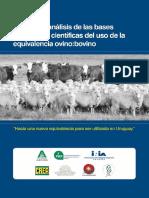 Revisión y análisis de las bases históricas y científicas del uso de la equivalencia ovino:bovino