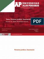 7 Persona Jurídica. Asociación
