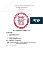 Informe Nº1. Pasta de Aji Escabeche
