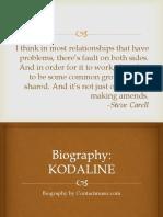 Biography Kodaline