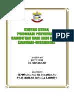 Kertas Kerja Sambutan Hari Jadi Perdana SK Pinangkau 2019