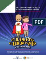 Manual de Talleres de Conductas de Autoprotección Para Niños y Niñas