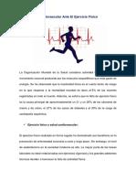 respuesta cardiovascular