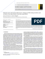 Operator Error and System Deficiencies Analysis of 508 Mining Incidents and Accidents