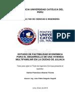 Alvarez Ticona Carlos Factibilidad Juliaca