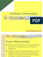 Introducao à Biotecnologia