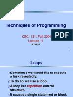 11. Loops