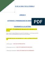 u3 Act2 Probabilidad de Herencia de Tolerancia a La Lactosa