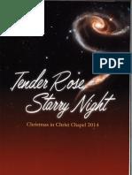 2014 Printed Program