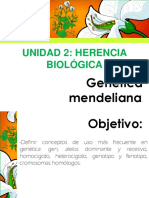 Genética Mendeliana. Presentación Final