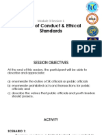 5 Code of Conduct & Ethical Standards 20170717