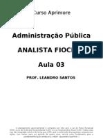 Aula 03 -Planejamento Público