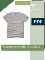 Catalogo Playera Cuello v Simona