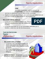 FUNCIÓN ARQUITECTÓNICA