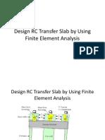 Transfer Slab by FEM