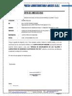 MODELO DE CARTA PARA CULMINACION