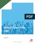 Expert - Manual de Ingreso Usuario
