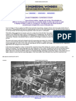 Steam Turbine Construction